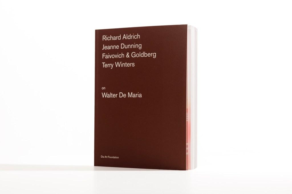 """Artists on Walter De Maria"""