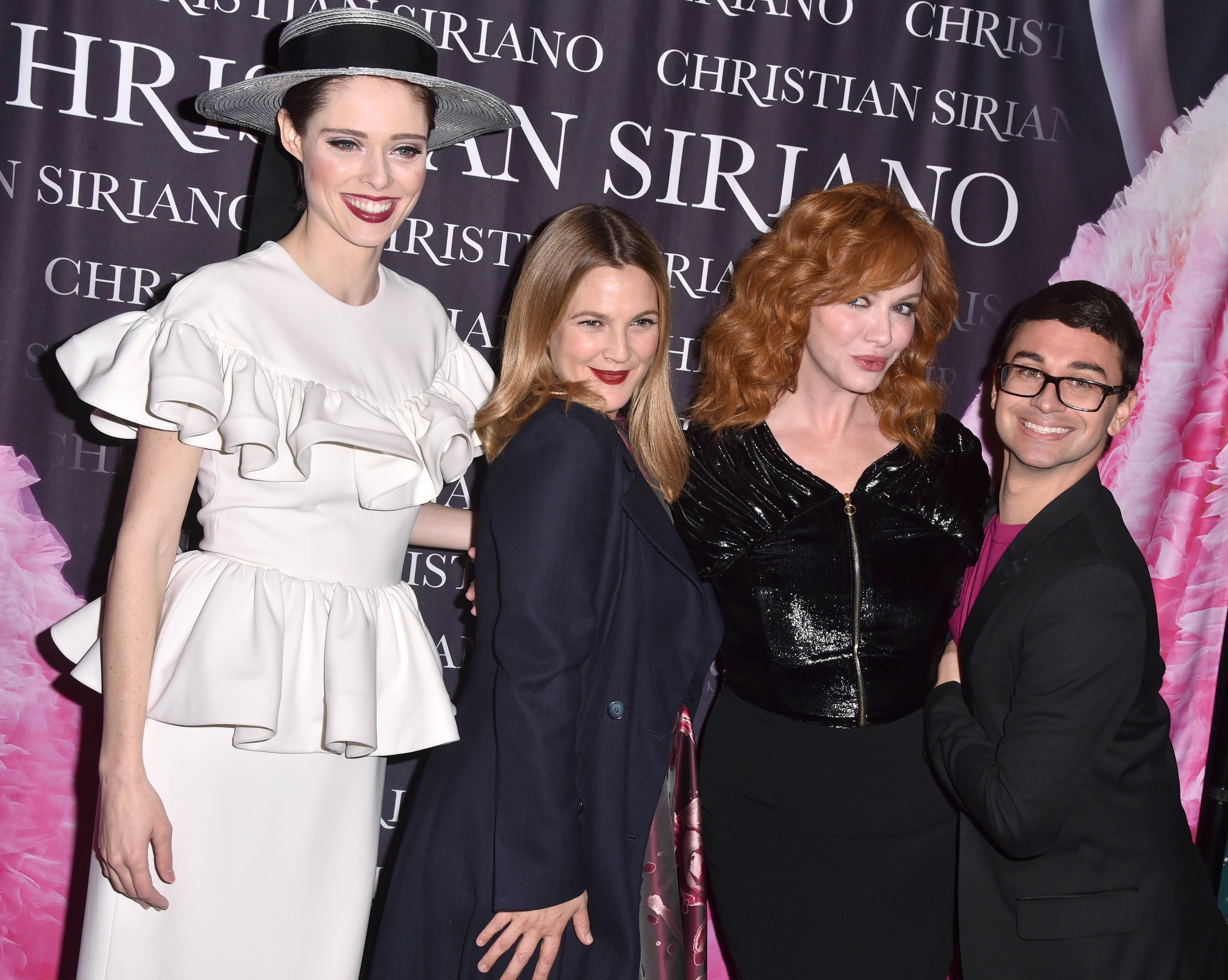 Coco Rocha, Drew Barrymore, Christina Hendricks, Christian Siriano'Dresses to Dream About' book launch, Arrivals, New York, USA - 08 Nov 2017