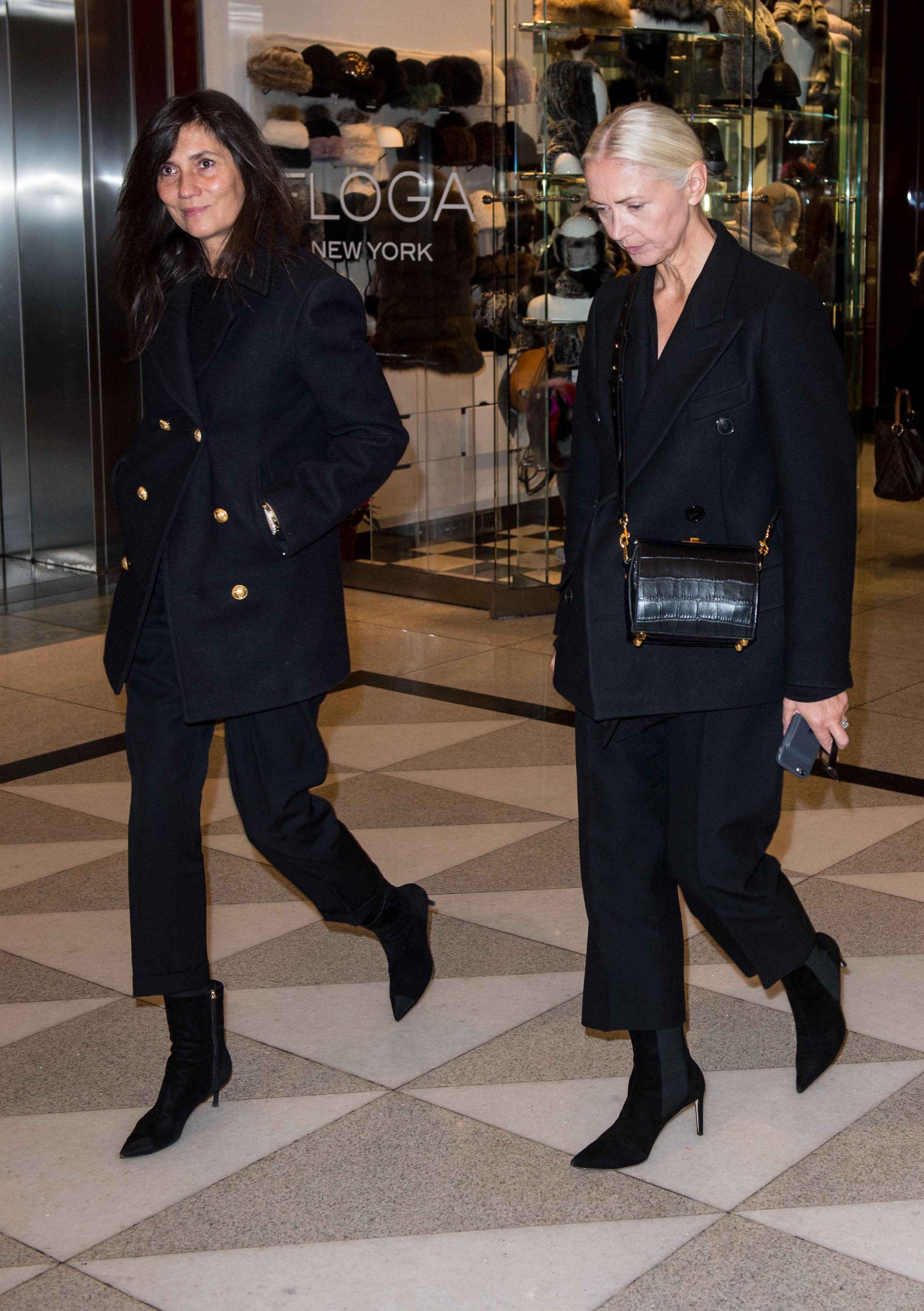 Emmanuelle Alt and Christiane Arp