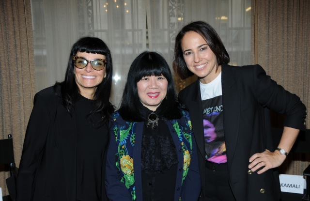 Norma Kamali, Anna Sui and Anne Fulenwider.