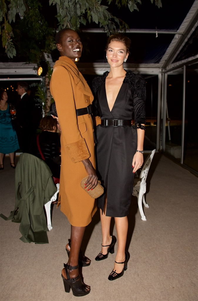 Ajak Deng and Arizona Muse