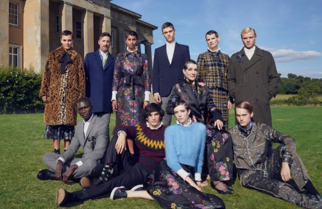 An image of the Erdem x H&M campaign