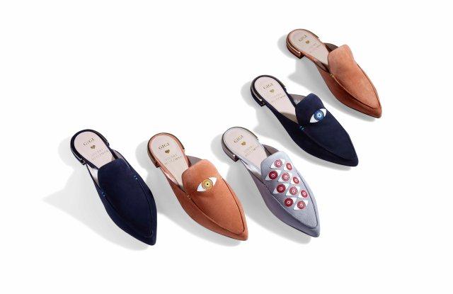 Gigi Hadid's designs for Stuart Weitzman