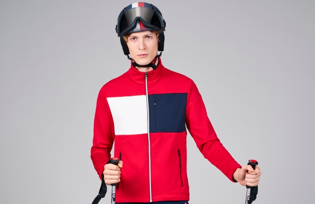 A look from the TommyxRossignol ski capsule.