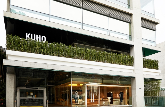 Samsung-owned contemporary womenswear brand Kuho launched its first flagship store in Seoul.