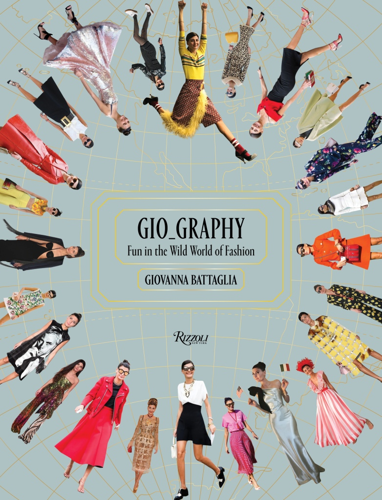 """The cover of the """"Gio_Graphy"""" book"""
