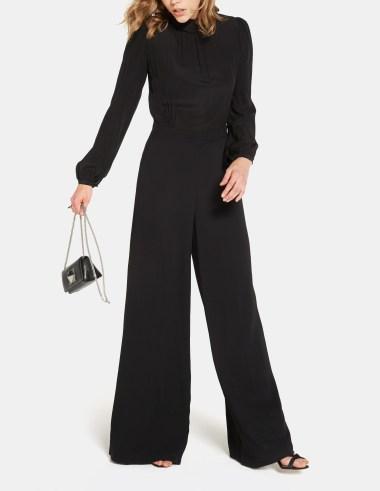 Goop label black jumpsuit