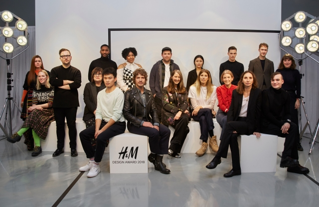 H&M Design Award jury and finalists