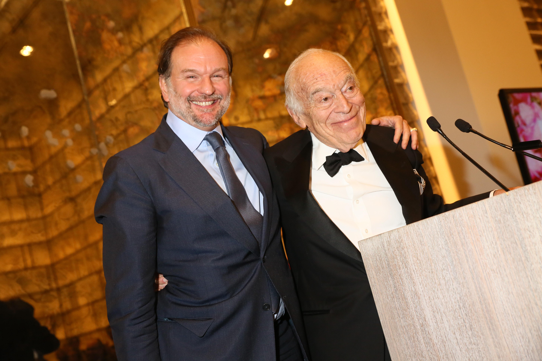 Nicolas Mirzayantz and Leonard Lauder