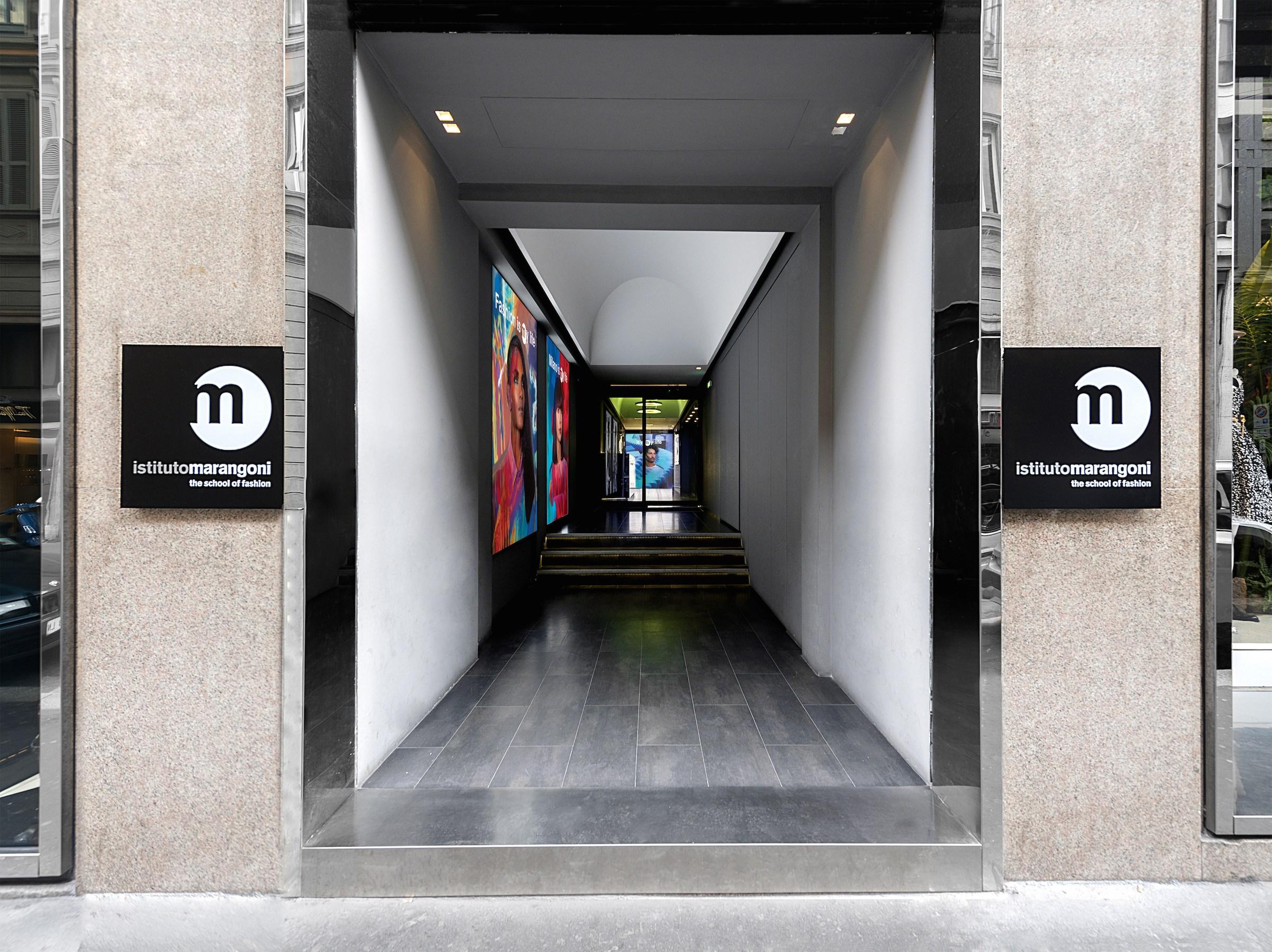 Istituto Marangoni fashion school in Milan.