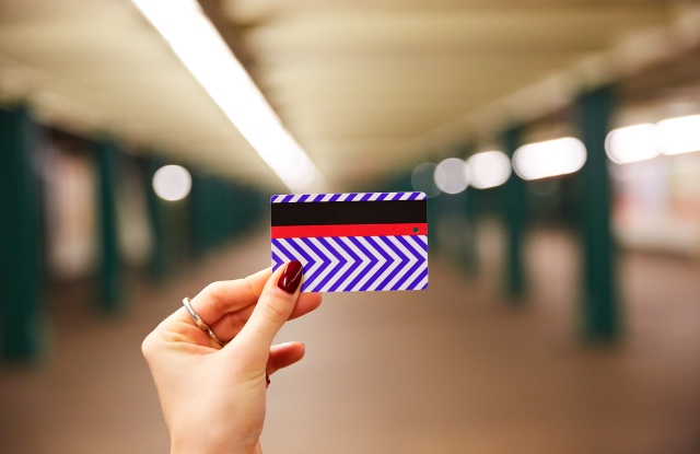 Jet.com's limited edition subway card.