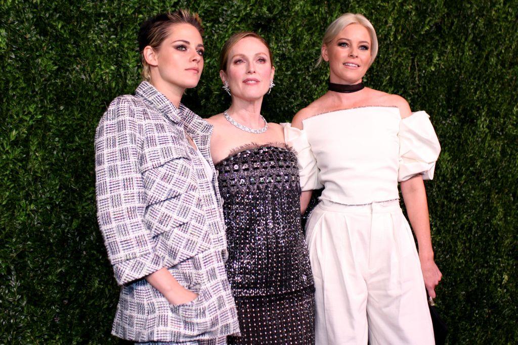 Kristen Stewart, Julianne Moore, Elizabeth BanksThe Museum of Modern Art Film Benefit: A Tribute to Julianne Moore, Arrivals, New York, USA - 13 Nov 2017