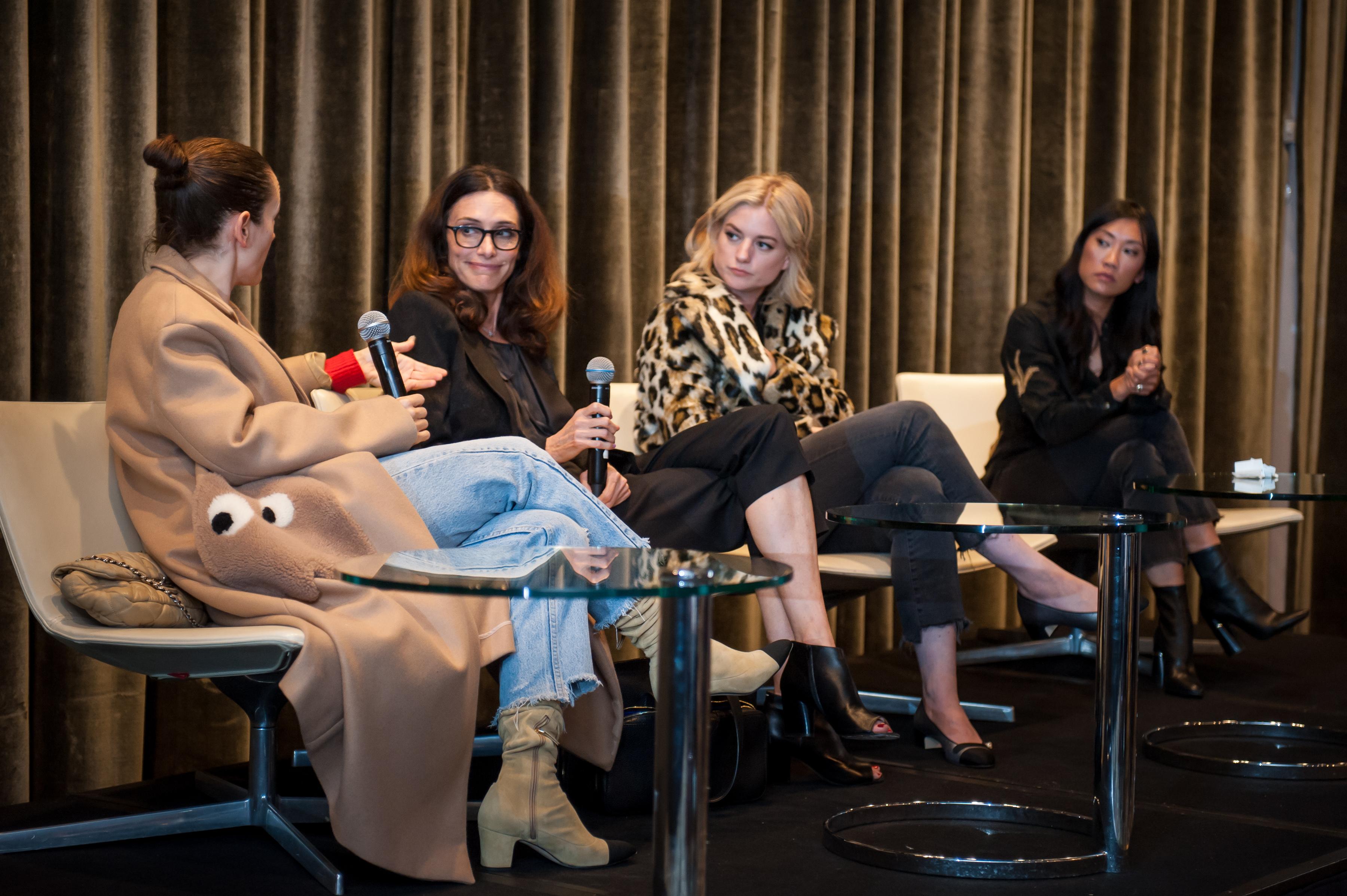 Karla Welch, Elizabeth Stewart, Ilaria Urbinati