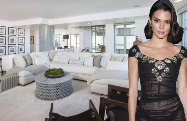 Kendall Jenner's starter apartment