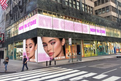 Kylie Jenner had a major makeup collaboration with Topshop.