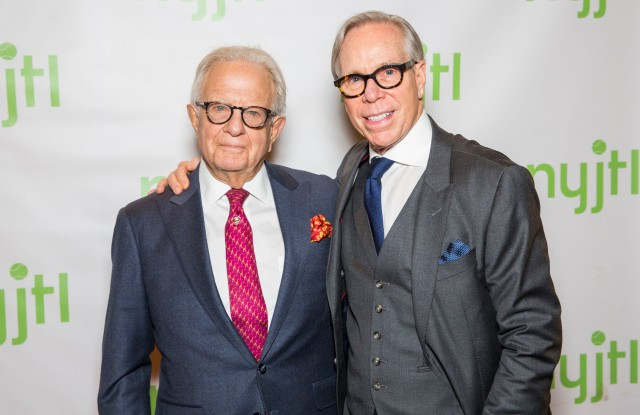 Larry Leeds and Tommy Hilfiger