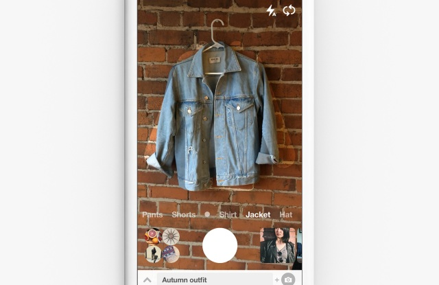 Pinterest opens visual search to your own wardrobe.