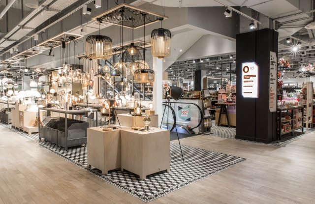 BHV Marais store in the Parly 2 shopping center