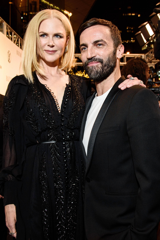 Nicole Kidman and Nicolas Ghesquière