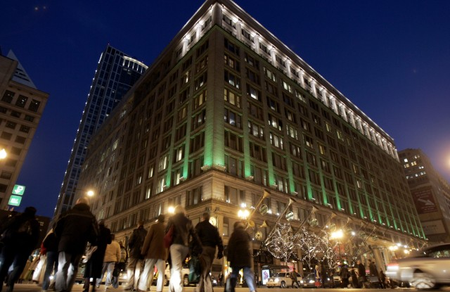 Marshall Field's State Street Macy's store in Chicago.