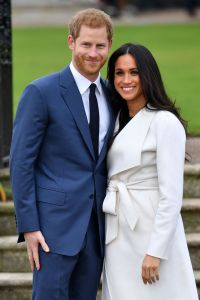 Prince Harry and Meghan Markle (in The Line and P.A.R.O.S.H.)