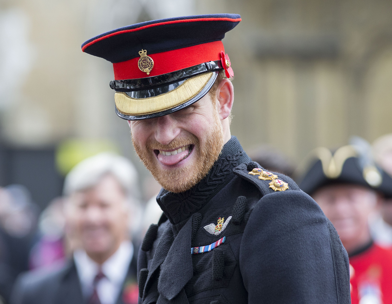 Prince Harry today officially opened the Field of Remembrance at Westminster Abbey.Westminster Abbey Field of Remembrance opening, London, UK - 09 Nov 2017