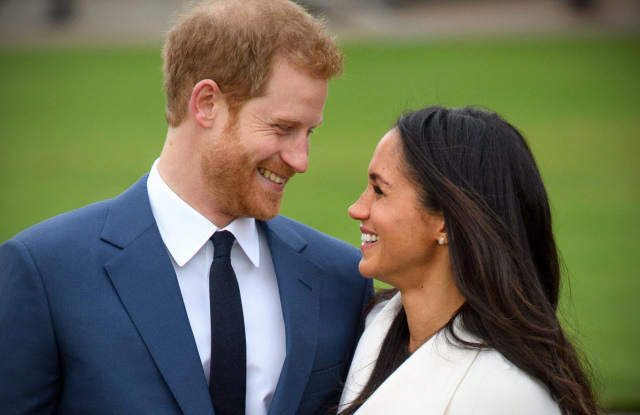Prince Harry and Meghan MarklePrince Harry and Meghan Markle engagement announcement, Kensington Palace, London, UK - 27 Nov 2017