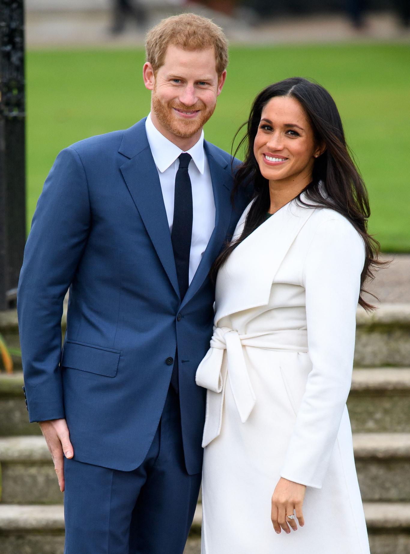 Prince Harry and Meghan MarklePrince Harry and Meghan Markle engagement announcement, Kensington Palace, London, UK - 27 Nov 2017