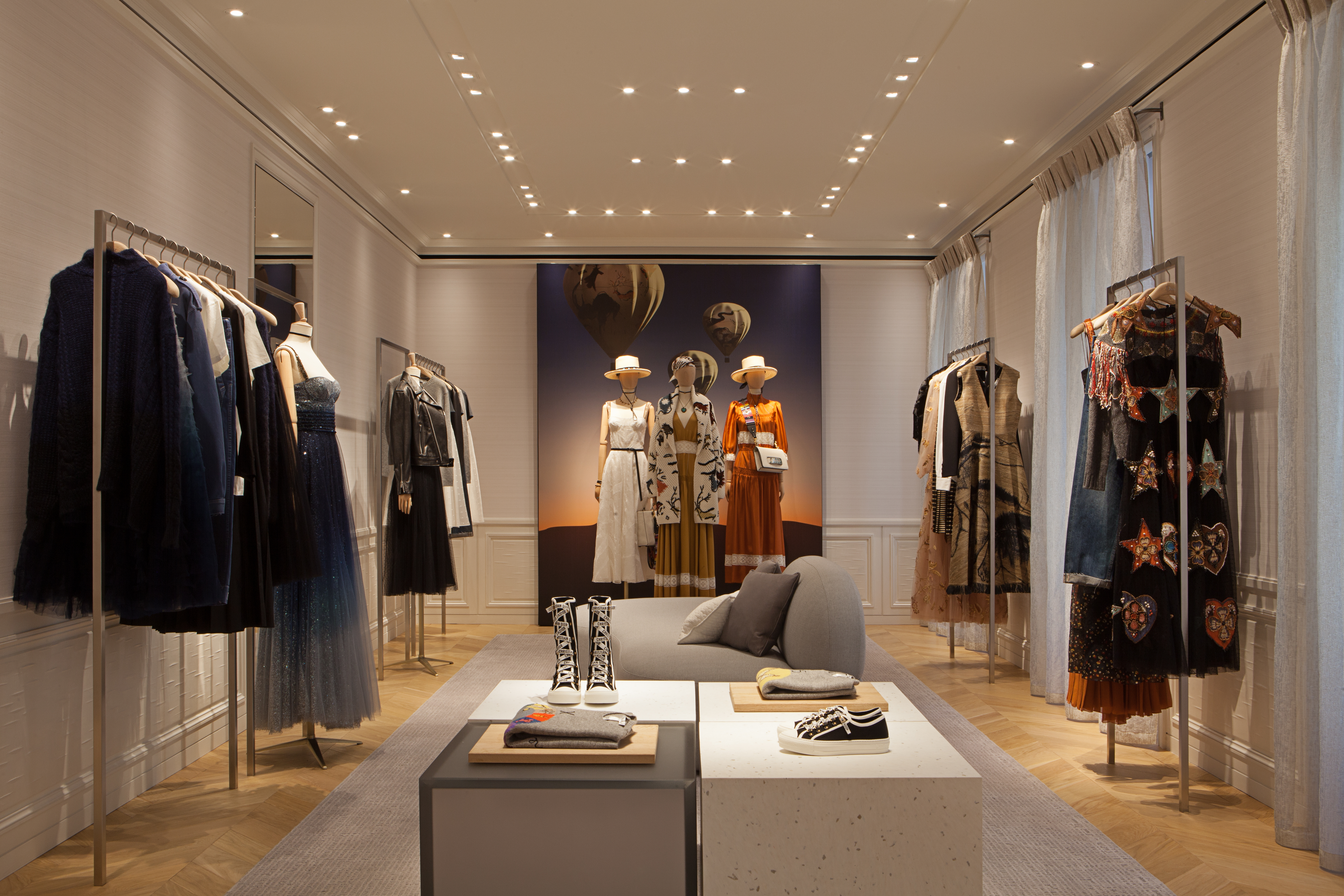 The Dior boutique in Madrid.