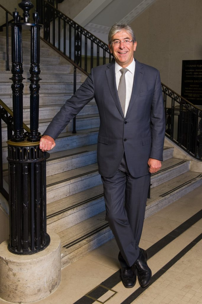 Harrods managing director Michael Ward