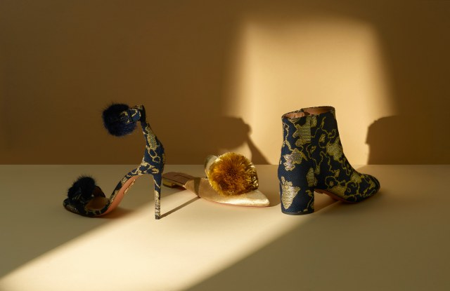 Aquazzura x Mytheresa.com capsule collection.