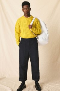 A look from AMI's pre-collection line set to launch in May.