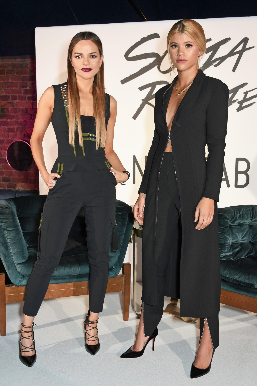 Maria Hatzistefanis and Sofia Richie