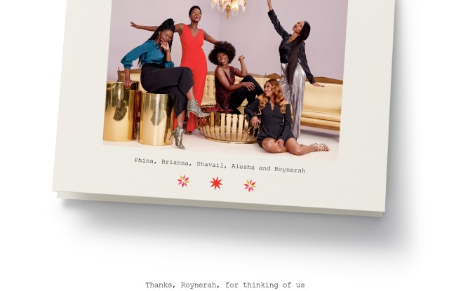 An image from Nordstrom's holiday campaign.