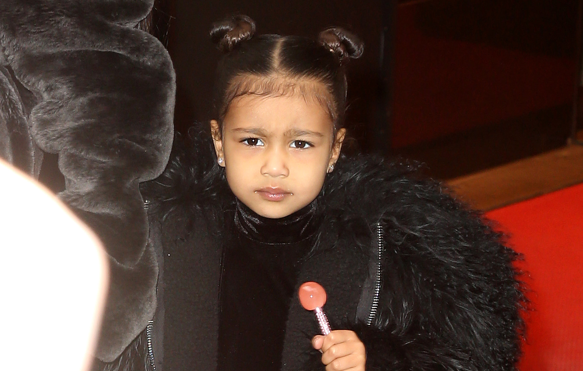 North WestKim Kardashian out and about, New York, USA - 01 Feb 2017Kim Kardashian and kids leaving home in New York City