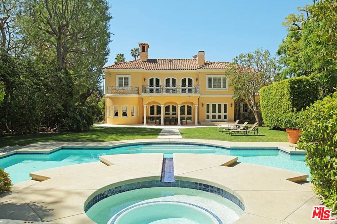 Paul Marciano just sold this mansion.