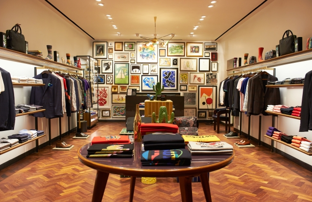 A Paul Smith store operated by Genesis in the Palladium mall.