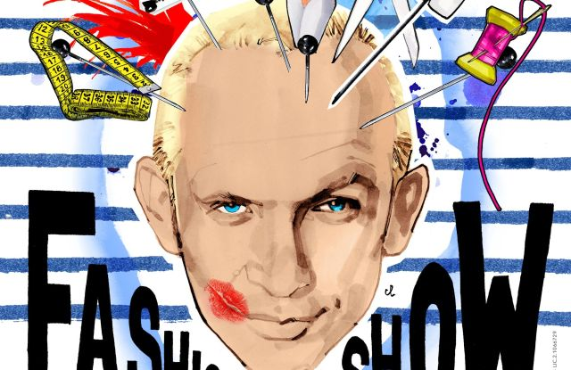 The poster for Jean Paul Gaultier's revue.