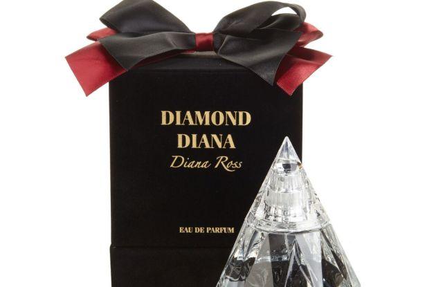 Diana Ross' new fragrance, Diamond Diana, for HSN.
