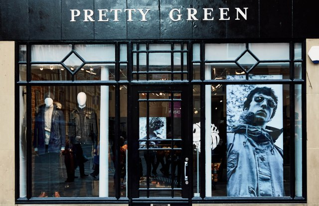 The Pretty Green store in Newcastle