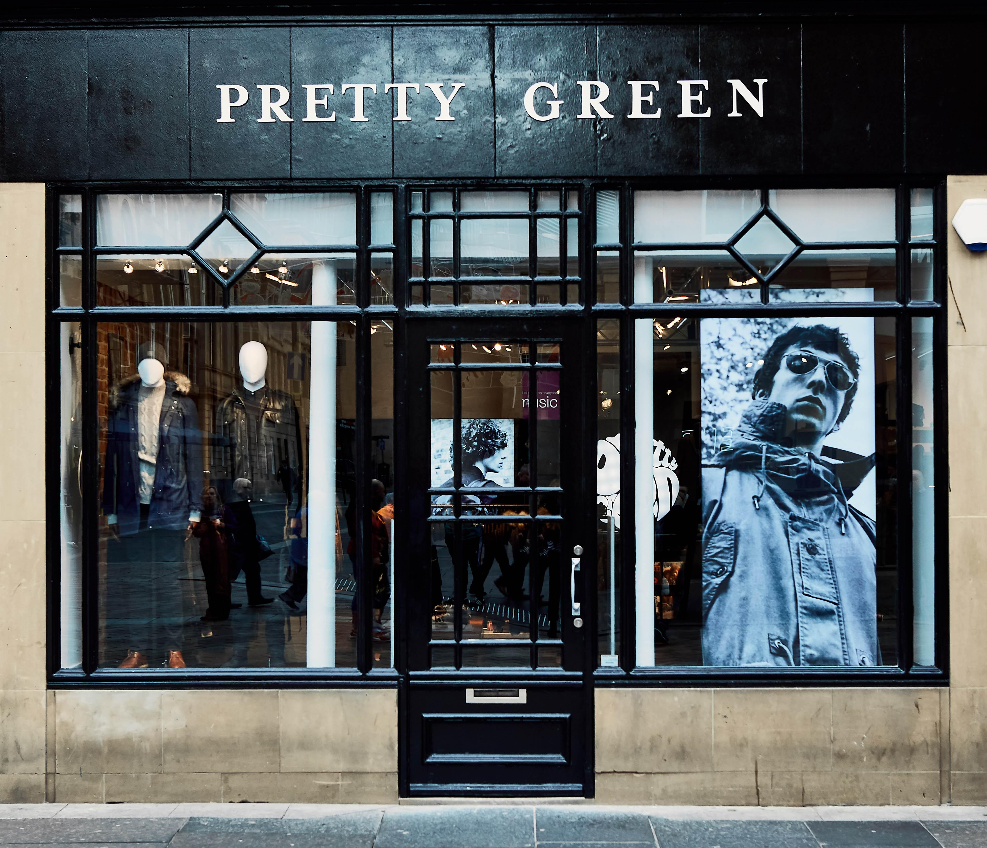 The Pretty Green store in Newcastle