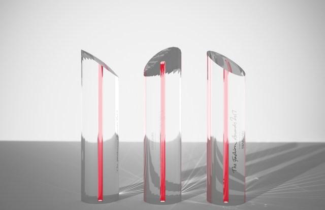 Fashion Awards 2017 Trophy designed John Pawson
