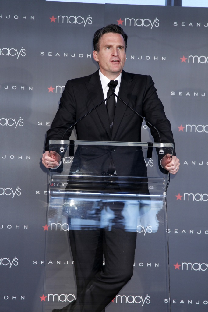Jeff Gennette attends Macy's Sean John press conference at the Standard Hotel.Macy's Sean John Press Conference, New York