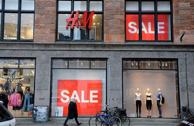 H&M store in CopenhagenStock, Denmark - 2017