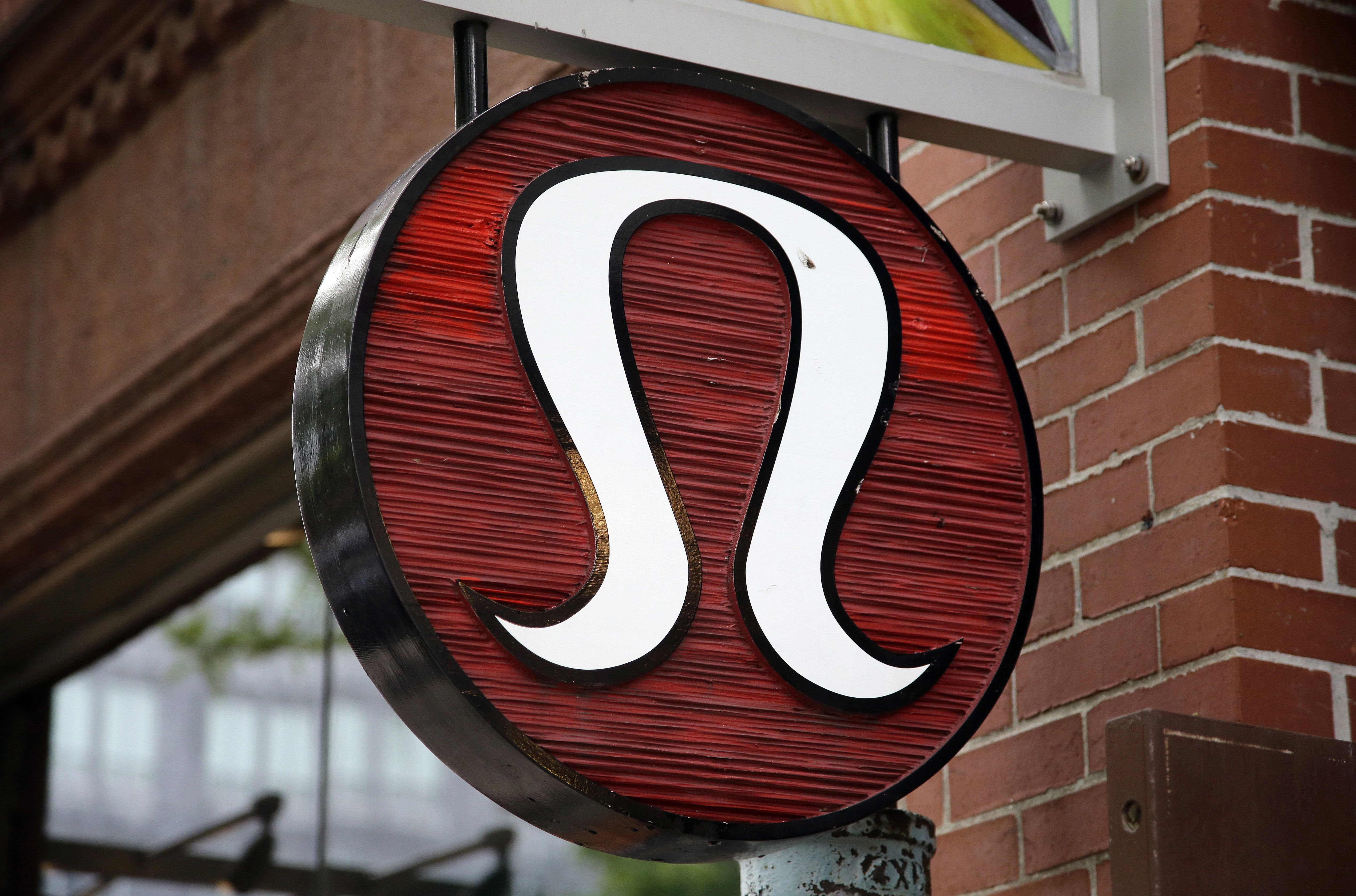 This, photo, shows a Lululemon Athletica logo outside a store on Newbury Street in Boston. Lululemon Athletica Inc. reports earnings, Thursday, Aug. 31, 2017Earns Lululemon Athletica, Boston, USA - 05 Jun 2017