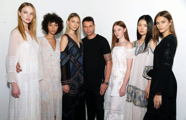 The BCBGMAXAZRIA SS 2018 presentation at NYFW.