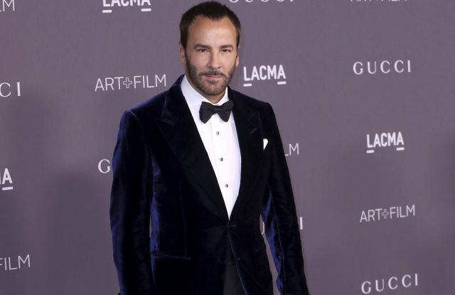 Tom Ford arrives at the LACMA Art + Film Gala at the Los Angeles County Museum of Art, in Los Angeles2017 LACMA Art + Film Gala, Los Angeles, USA - 04 Nov 2017