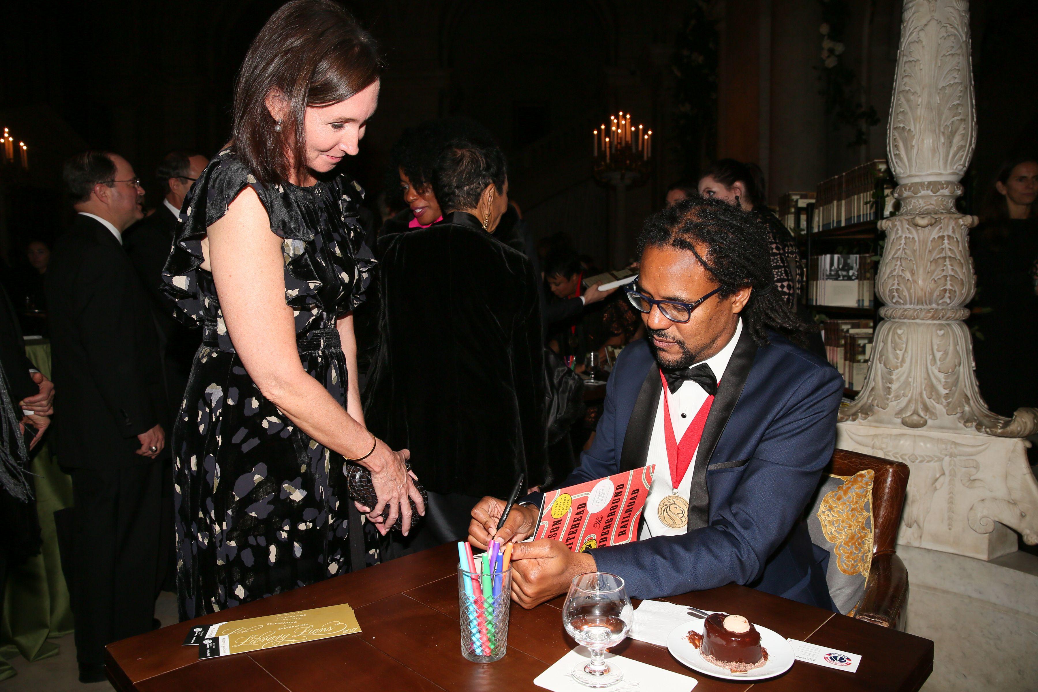 Colson WhiteheadNew York Public Library Lions Gala, Inside, New York, USA - 06 Nov 2017