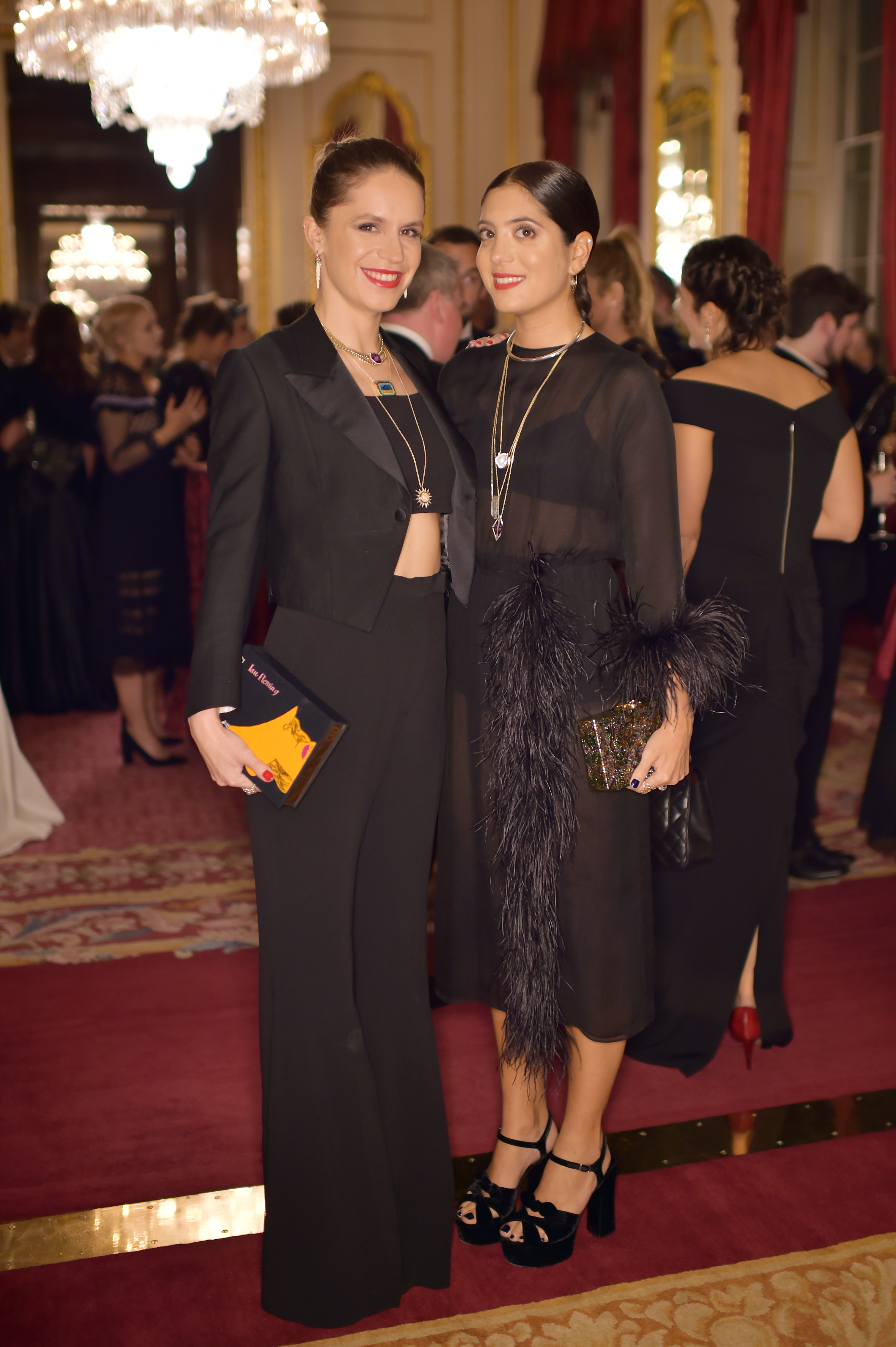 Eugenie Niarchos and Noor FaresThe Leopard Awards in Aid of The Prince's Trust, London, UK - 15 Nov 2017