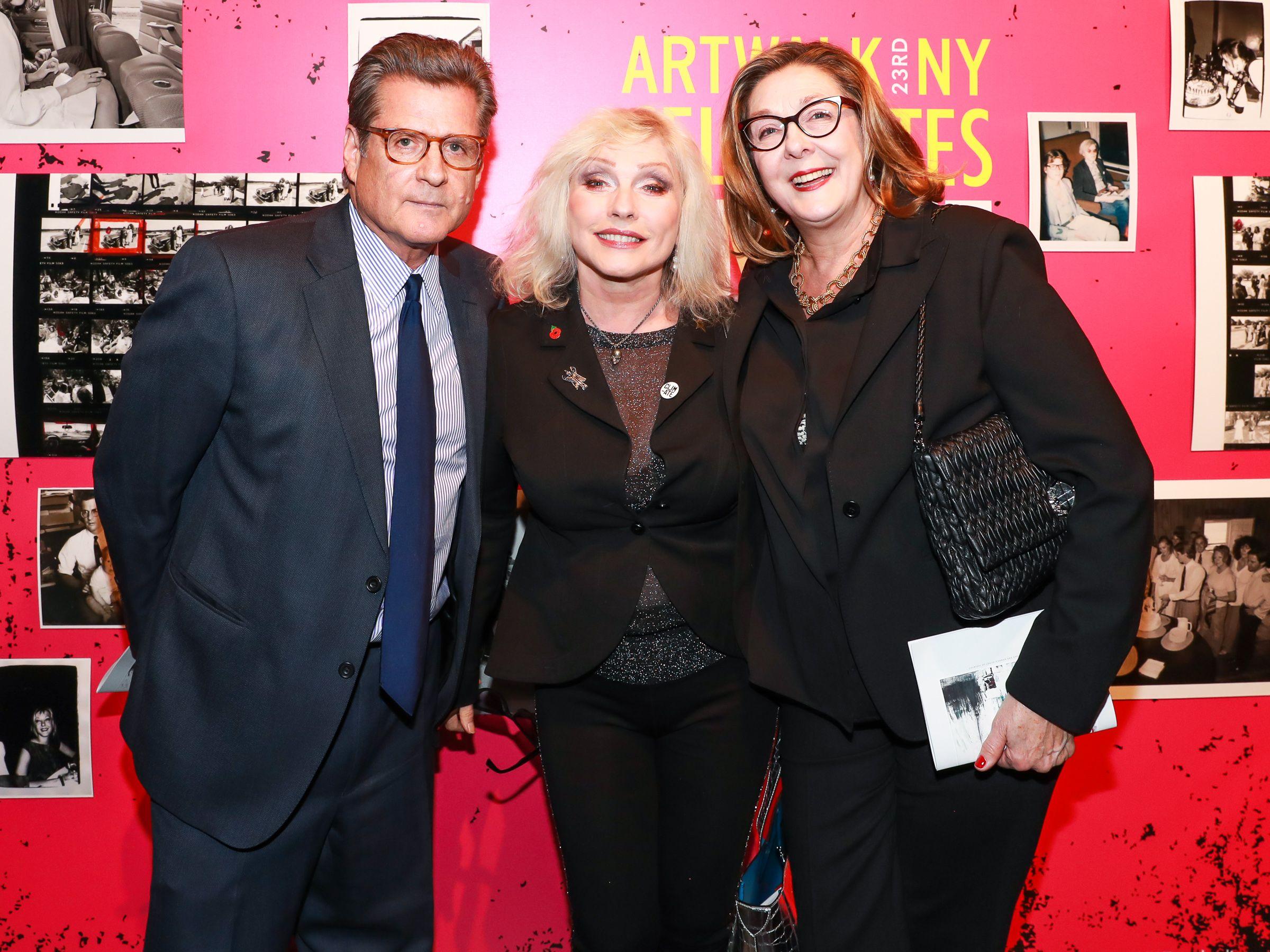 Vincent Fremont, Deborah Harry, Shelly FremontArtwalk NY Benefit For The Coalition For The Homeless, New York, USA - 29 Nov 2017